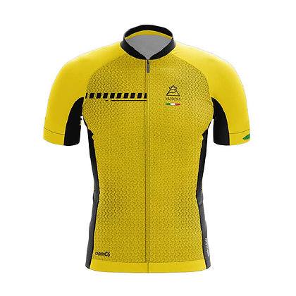 חולצת רכיבה Carbon C6 -צהוב