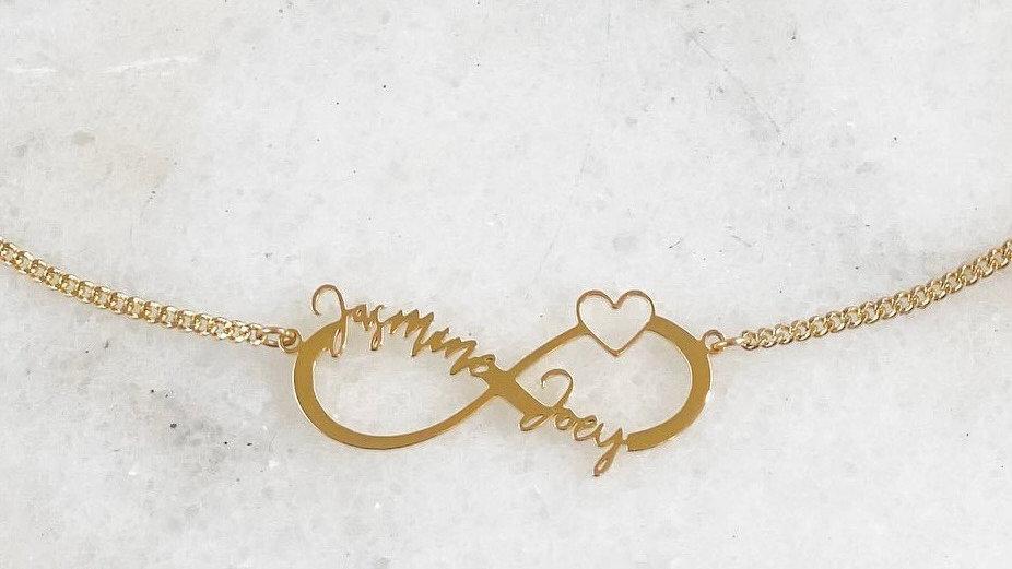 Eternity Multi-Name  Necklace