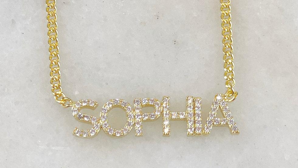 MINI Crystal Name Plate