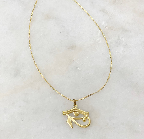 Eye Charm Necklace