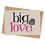 Thumbnail: sign & stamp service - isolation card, missing you, any occasion card - BIG LOVE