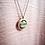 Thumbnail: Olive Argyle natural wood long boho necklace