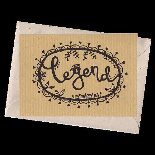 sign & stamp service - LEGEND