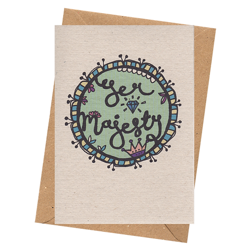 sign & stamp service - YER MAJESTY