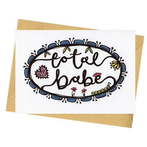 sign & stamp service - love, Valentine's day - TOTAL BABE