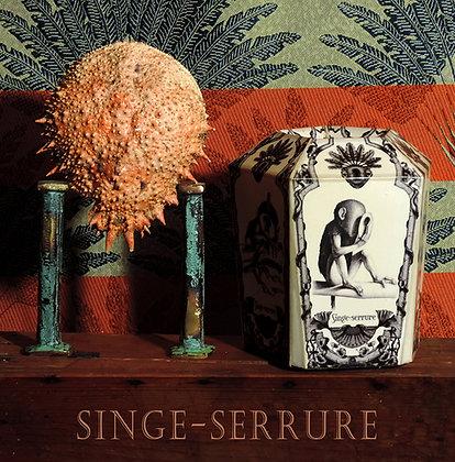 Singe-Serrure (noir et blanc)