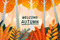 Welcome-autumn-background