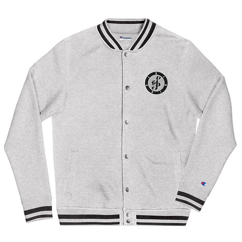 Men's Sinical Embroidered Champion Bomber Jacket