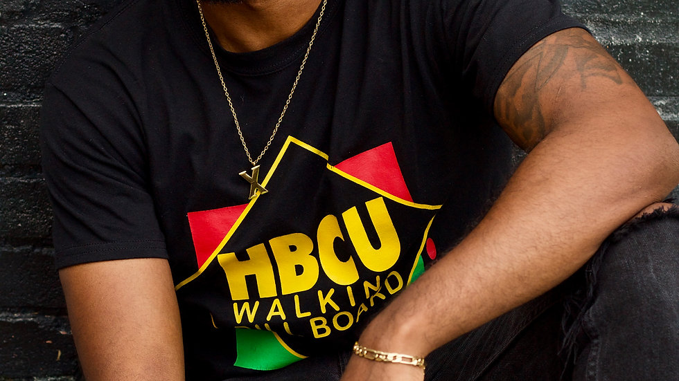#HBCU WalkingBillboard Original Logo Tee