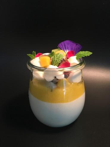 Soursop-Mango Mousse