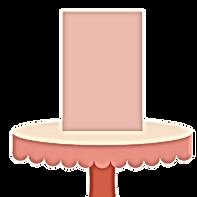 "TALL CAKE 6"" diameter x 8"" height (Serves 18-24) $175"
