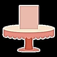"SMALL CAKE 6"" diameter x 5"" height (Serves 8-12) $95"