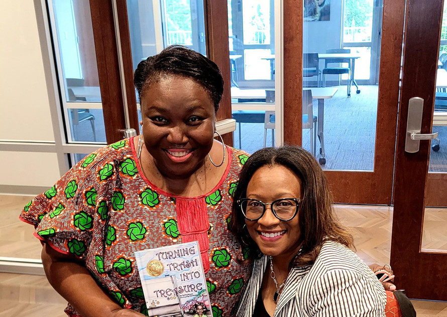 Local Author, Marjorie Marjy Marj Boafo