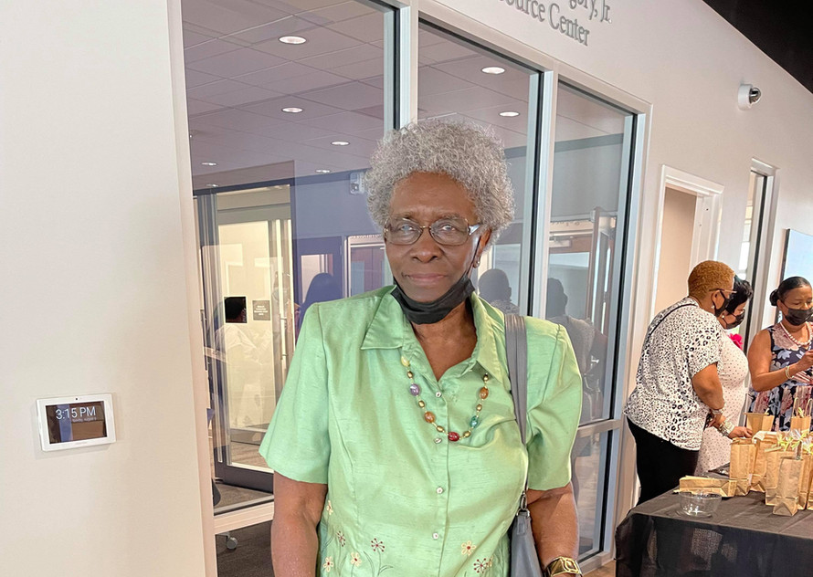 Sunday School Teacher, Velma Burton