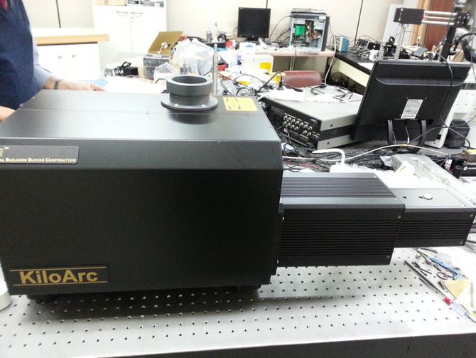 포항공과대학교 화학과 KiloArc Light Source 사진