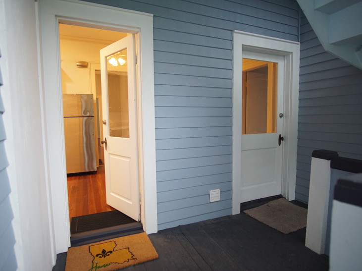 back door entrance