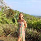 Karla enjoying time above Dominical