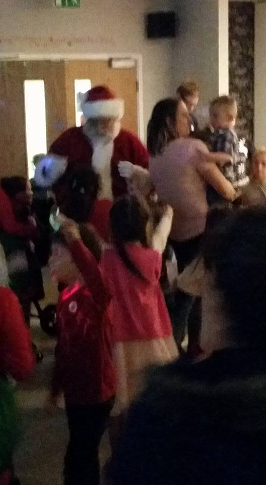 Father Christmas arriving 2015