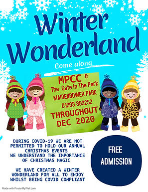 Copy of Winter Wonderland Flyer - Made w
