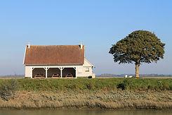 Abri pique nique sur la digue du nord à St-Valery/Somme - Accés à la Baie de Somme