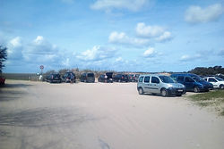 Parking de la Maye - Accés à la Baie de Somme