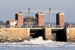 Les écluses du Crotoy - Accés à la Baie de Somme