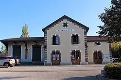 Gare du train touristique CFBS du Crotoy - Accés à la Baie de Somme