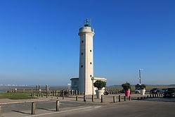 Phare du Hourdel - Accés à la Baie de Somme