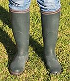 Bottes caoutchouc - Equipement des pieds en Baie de Somme