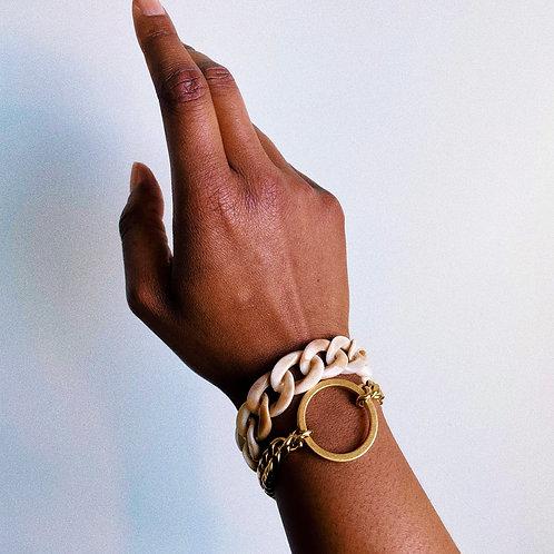 Omo Marble Gucci Clip Bracelet