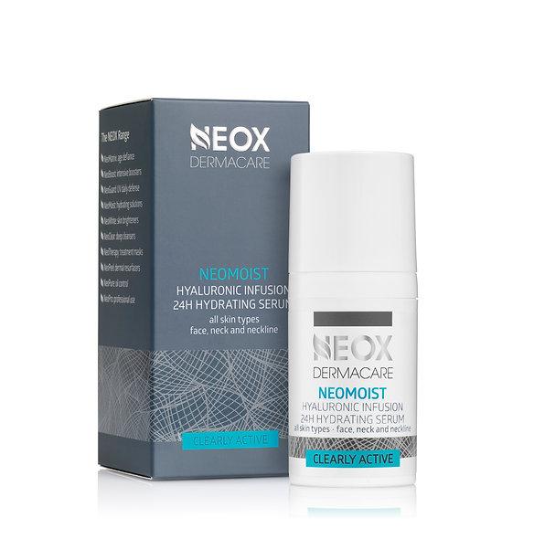 Цілодобова гілауронова сироватка для усіх типів шкіри NeoMoist