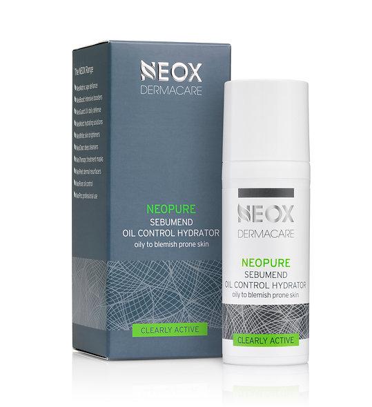 Зволожуючий себорегулюючий крем для жирної шкіри NeoPure