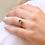 Thumbnail: טבעת כתר לונדון בלו-טופז ויהלומים