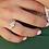 Thumbnail: טבעת מוסונייט ויהלומים ארט- דקו 1.45 ct