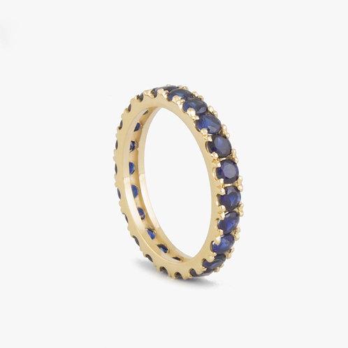 טבעת נצח ספיר מלכותית