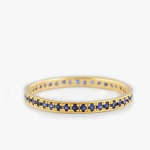 טבעת נצח ספיר
