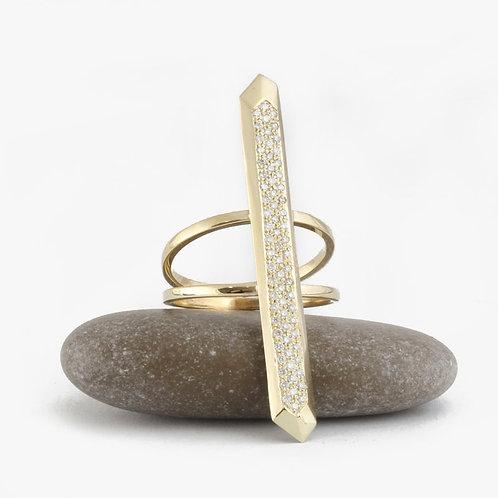 טבעת יהלומים רומא