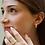 Thumbnail: חישוק פתוח משובץ מוסונייט