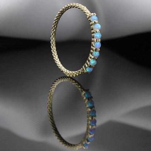 טבעת חצי נצח אופל