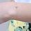 Thumbnail: צמיד זהב יהלום יחיד 0.05ct