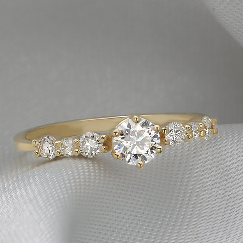 טבעת אירוסין Forever