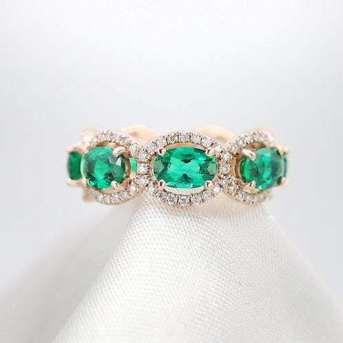 טבעת אמרלד נצח מלכותית