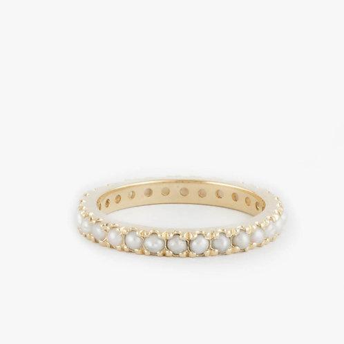 טבעת נצח פנינים