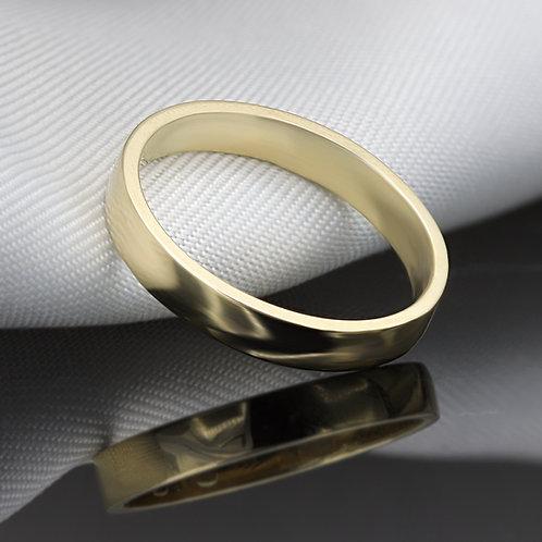 """טבעת נישואין """"אנטורנו"""" מזהב"""