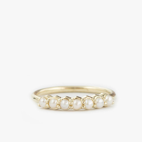 טבעת 7 פנינים
