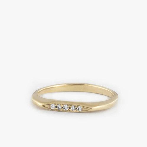 טבעת מרקיזה יהלום