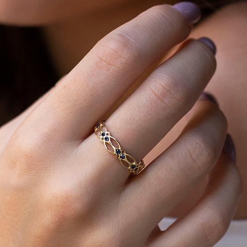 טבעת קלטית 32 ספירים