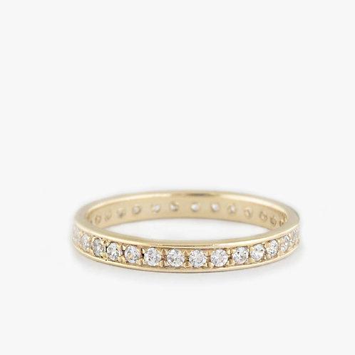 טבעת נצח יהלומים