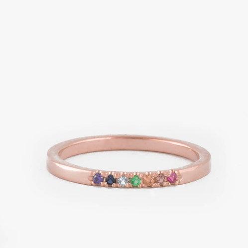 טבעת 7 צבעים