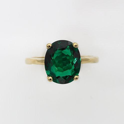 טבעת אמרלד צטהאם 12x10